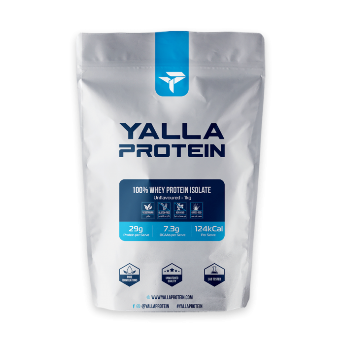 100% Whey Protein Isolate - Wide range